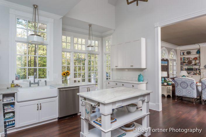 Farmhouse/ eclectic kitchen design-build remodel