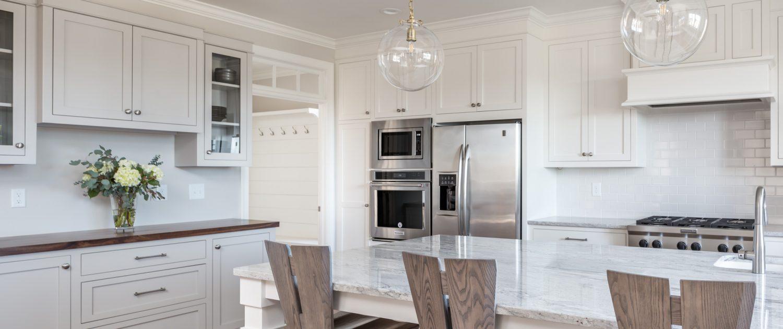 transitional style design-build kitchen remodel