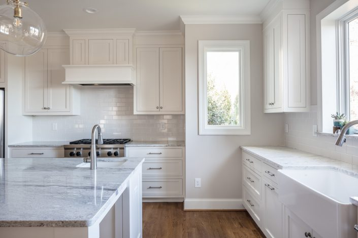 transitional style design-build kitchen remodel