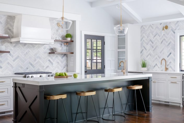 custom, stylish, and functional design-build kitchen