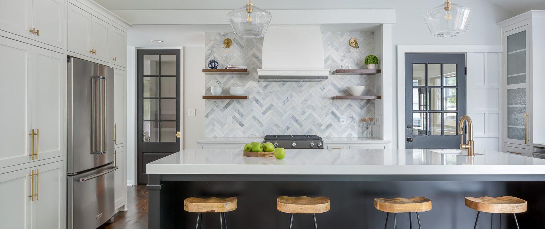 custom, stylish, and functional design-build kitchen