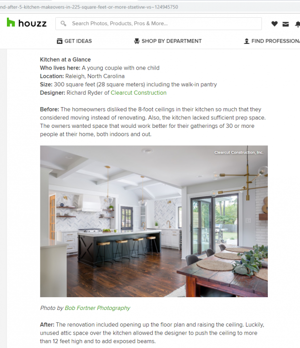 Kitchen Makeover Article