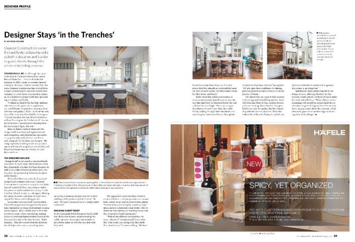 Kitchen and Bath Design Build Magazine Article